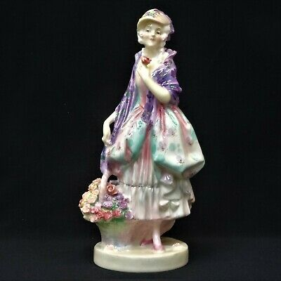 Early ROYAL DOULTON  PHYLLIS  Figure HN1420, 1933 • 145£