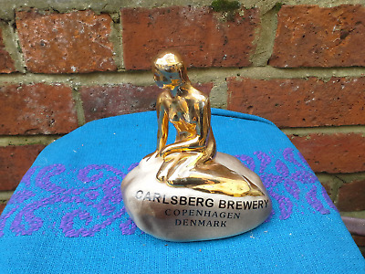 Rare Wade  Advertising Figure Of Carlsberg Brewery Copenhagen Denmark • 20£