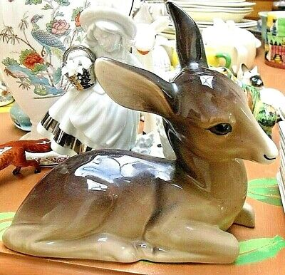 Vintage Midwinter 8  Large  Deer Figure - Very Good Condition • 19.95£