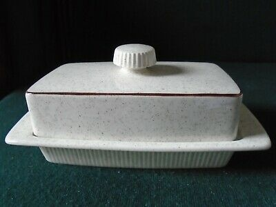 Poole Broadstone Butter Dish • 9£