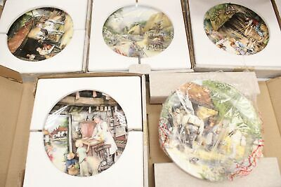 10 X ROYAL DOULTON  Old Country Crafts  Decorative Plates - W05 • 16£