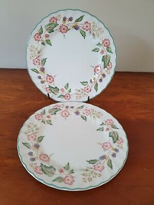 2   Bhs 'victorian Rose'  Side Plates • 4.50£