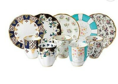NEW Royal Albert 100 Years 10 Piece Mug And Plate Set Rrp£280 • 119.99£