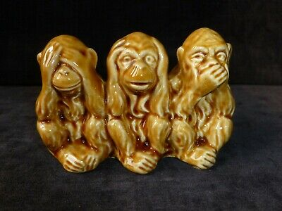 Sandland Civic 3 Wise Monkeys Ornament • 8.99£