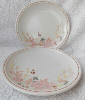 Boots Hedge Rose - 2 Salad Or Breakfast Plates 7.5  • 1.99£