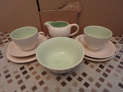 Royal Staffordshire English Ceramics By Clarice Cliff Eight Piece Tea Set • 17.95£