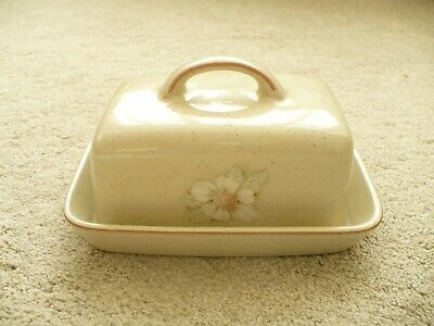 Denby Coloroll Butter Dish • 12.95£