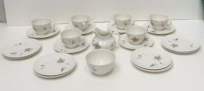 Royal Doulton Tumbling Leaves 26 X Pieces Unboxed Preowned 850ZO • 7.50£