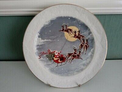 Vintage Wood And Sons Christmas Plate • 4.99£