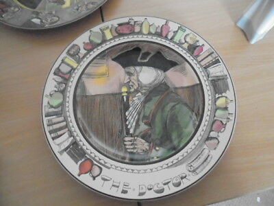 Royal Doulton The Doctor Collectors Plate D6281 • 3£
