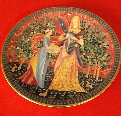 One Off, Vintage Past Times Plate By Royal Worcester • 0.99£