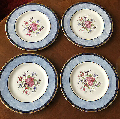 4 X Royal Doulton CENTENNIAL ROSE 20cm Plates Set#1 • 8£