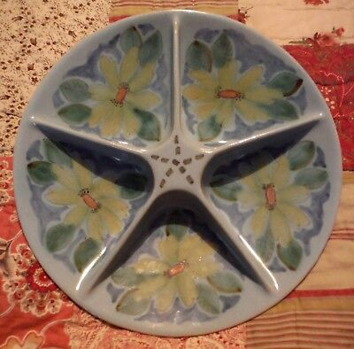 Pretty & Useful Vintage, Large Buchan Ware Hors D'oeuvre Dish.  • 16.50£