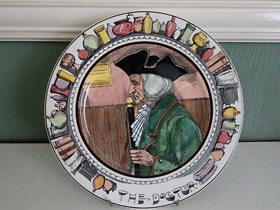 Vintage Royal Doulton  The Doctor  D6281 Plate • 5.99£