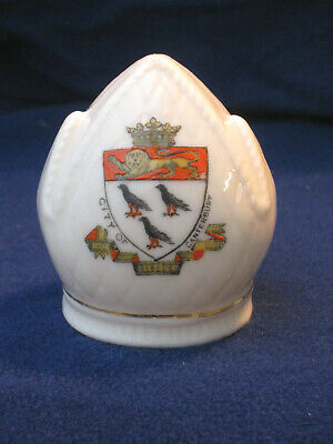 Arcadian Crested China Bishops Mitre - Canterbury • 0.99£