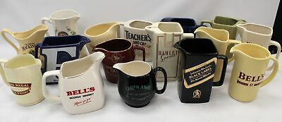 16 Vintage WADE PDM Collectable Decorative WHISKEY/WATER JUGS  - S45 • 5.50£
