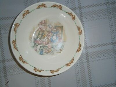 Royal Doulton Bunnykins Cereal Bowl • 8£