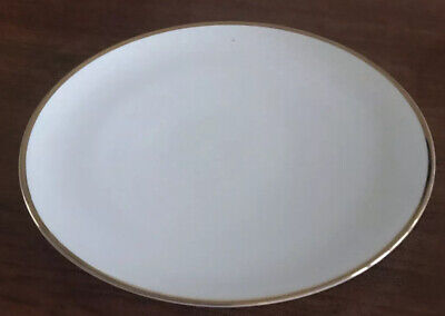 """Thomas China White With Gold Rim 10"""" Dinner Plate • 9.99£"""