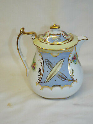 Antique Paragon Star China Coffee Pot In 6121 Pattern. • 10.50£