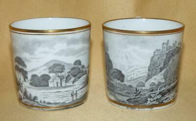 2 Miles Mason Bat Printed Scenes Coffee Cans C1805-10 • 10£
