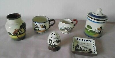 Collection  Various Pieces Retro Torquay Devon Motto Ware + Dartmouth Pottery • 7.99£