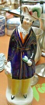 Antique Staffordshire Figure 7.5  Tall -Possibly Prince Albert • 6.95£