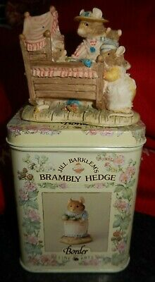 Brambly Hedge Border Fine Arts Figure Bh71 Lady Woodmouse Looking In The Cradle • 9.99£