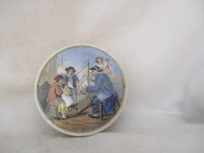 19th Century 'old Jack' Sailor Pot Lid • 20£
