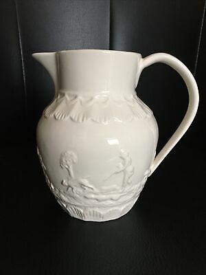 """LPC Authentic Leedsware Jug.Hunting Scene. 6"""" Tall. Excellent Condition. • 6£"""