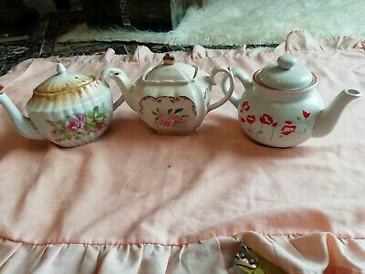One Cup Teapots 3 Of • 5.99£