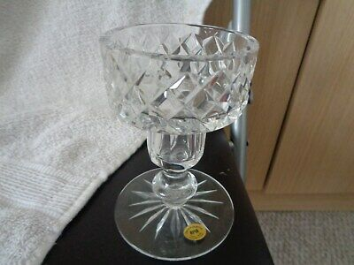 Amazing Vintage 11cm Tyrone Crystal Candlestick - Perfect • 15£