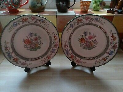 Two Spode  Chinese Rose  9  Side Plates. • 14.99£