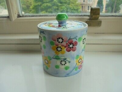 Preserve / Honey Pot ~ Bough Pottery  ~ Beautiful Colours &  Lovely Display ! • 34£