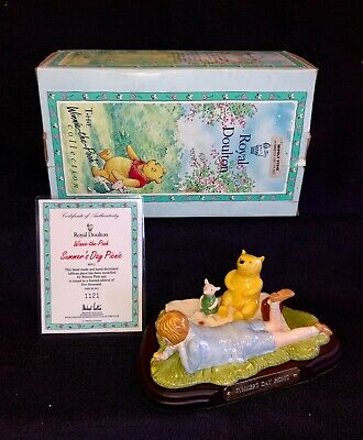 Boxed Royal Doulton Disney Summer's Day Picnic Ltd Ed Winnie-the-pooh Collection • 29.95£