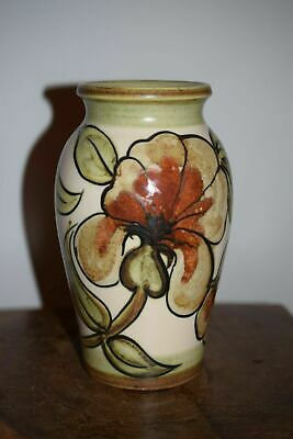 Langley Hand Painted Vase Magnolia Design By Glyn Colledge • 55£
