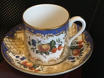 Spode The Cabinet Collection Cup Saucer Orchard • 25£