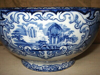 Handsome George Jones & Sons Abbey 1790  Large Footed Bowl  • 25£