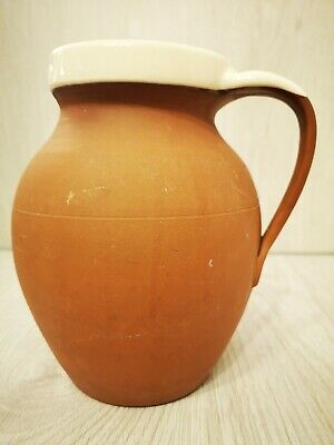 C.H. Brannam Two Pint Jug Royal Barum Ware Dip Glazed Earthenware Pitcher... • 15£