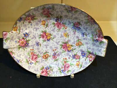 Vintage Royal Winton Grimwades Eleanor Chintz Two Handled Bowl • 9.50£
