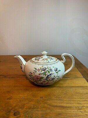 Aynsley Pembroke Teapot Full Size - Good Condition No Chips Or Cracks • 70£