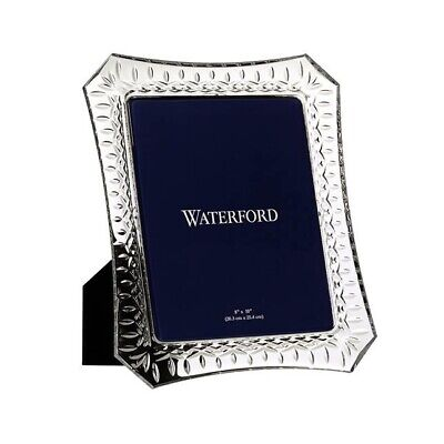 New Boxed Lismore Waterford Photo Frame 8x10 • 62£