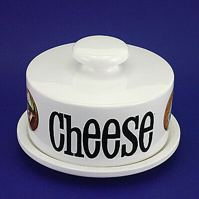 Royal Winton Digestive Biscuit Pattern Covered Cheese Dish - 21cm/8.25  Diameter • 7.99£