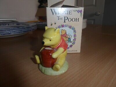 Royal Doulton Winnie The Pooh Miniature Collection Pots Of Honey • 3£