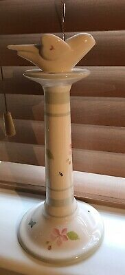 Susie Watson Designs Apple 🍏 Blossom Large Candlestick • 23£