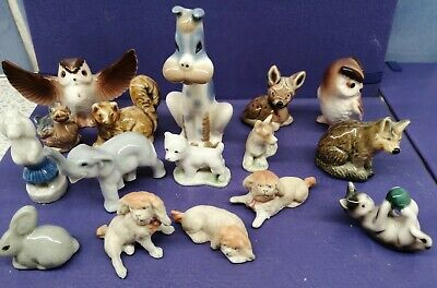 Miniature China/ Porcelain Animals Collection. (5x WADE)  • 6.50£