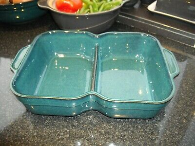 Denby Greenwich Divided Serving Dish • 9.99£