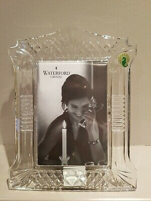 New Waterford Crystal Abbeville Picture Frames In Box • 30£