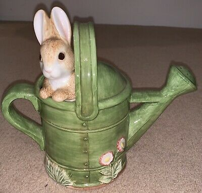 Beatrix Potter Peter Rabbit 🐇 Teapot 1996 By Frederick Warne & Co Not 50p Coin • 14.99£