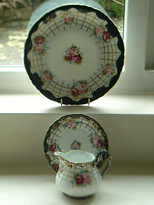 3  Pieces Of Antique Vintage Noritake China - Blue Mark. • 5.49£
