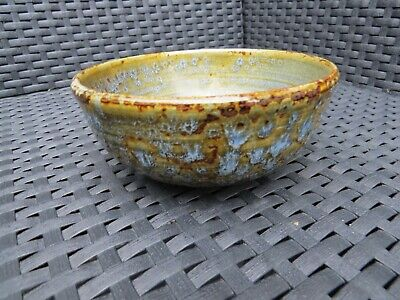 Hand Made Scottish Isles Arran Ceramics Pottery Bowl, Lovely In Excellent Order • 28.75£